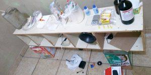 GCM de Engenheiro Coelho localiza refinaria de drogas