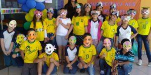 Alunos de Engenheiro Coelho participam da Semana da Pátria